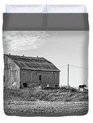 Ontario Farm 5 Bw Duvet Cover