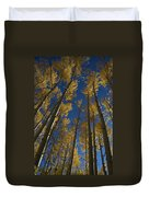Onward Toward The Sky Duvet Cover