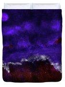 Oocean In The Moonlight  Duvet Cover