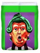 Oompa Loompa Trump Duvet Cover