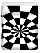 Op Art Duvet Cover by Methune Hively