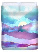 Opal Mountains Duvet Cover
