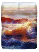 Opalescent Sea Duvet Cover