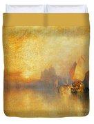 Opalescent Venice Duvet Cover