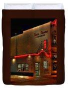 Open All Nite-texas Tavern Duvet Cover