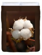 Open Cotton Boll Duvet Cover