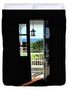 Open Door Duvet Cover