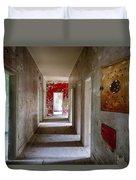 Open Doors - Abandoned Building Duvet Cover