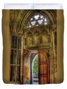 Open Doors Duvet Cover