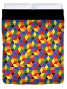 Open Hexagonal Lattice I Duvet Cover