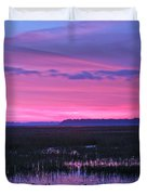 Open Marsh Duvet Cover