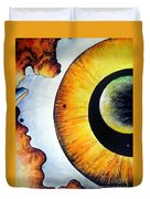 Open Mind. Door To Eternity Duvet Cover