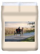 Open Road Open Buggy Duvet Cover by David Arment