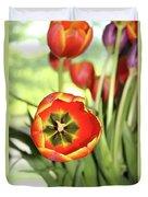 Open Tulip Duvet Cover
