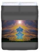 Opening Heavens Duvet Cover