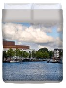 Opera House At The Waterfront Duvet Cover
