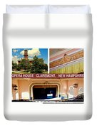 Opera House Claremont Nh Duvet Cover