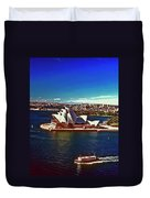 Opera House Sydney Austalia Duvet Cover