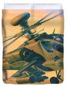 Operation Apache Duvet Cover