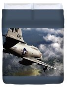 Operation Commando Hunt Duvet Cover
