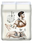 Operative Surgery, Illustration, 1846 Duvet Cover