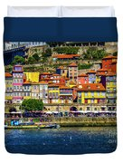 Oporto By The River Duvet Cover