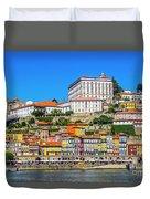 Oporto Riverfront Duvet Cover