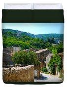 Oppede France - Street View Duvet Cover