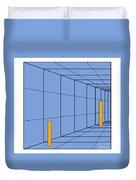 Optical Illusion. Perception Duvet Cover
