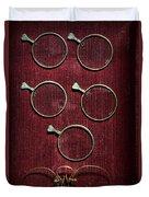 Optician - Optometrist Lens Duvet Cover
