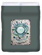 Oracular Yule Wreath Duvet Cover