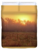 Oranage Dawn Duvet Cover