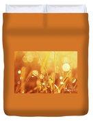 Orange Awakening Duvet Cover