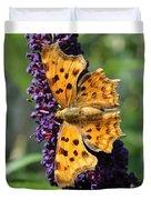 Orange Beauty Duvet Cover