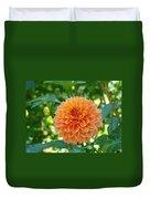 Orange Dahlia Master Gardeners Art Collection Baslee Troutman Duvet Cover
