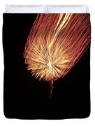 Orange Firework Duvet Cover