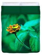 Orange Flower II Duvet Cover