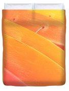 Orange Kayaks Duvet Cover by Brandon Tabiolo - Printscapes