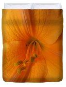Orange Lily 4 Duvet Cover