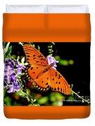 Orange Marvel Duvet Cover