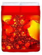 Orange Peel Duvet Cover