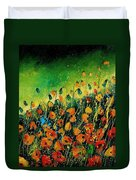 Orange Poppies 459080 Duvet Cover