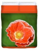 Orange Poppy 2 Duvet Cover