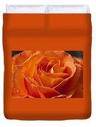 Orange Rose 2 Duvet Cover