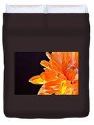 Orange Sherbet Duvet Cover