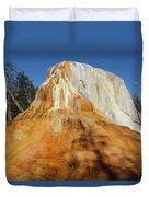 Orange Spring Mound Duvet Cover