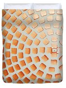Orange Squares Duvet Cover
