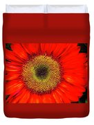 Orange Sunflower Duvet Cover