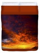 Orange Sunset 1.1 Duvet Cover