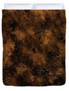Orange Textures 001 Duvet Cover